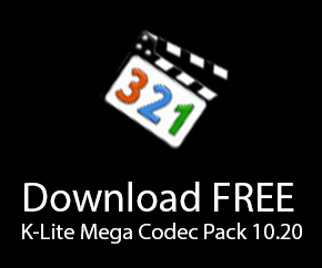Download FREE K-Lite Mega Codec Pack 10.20