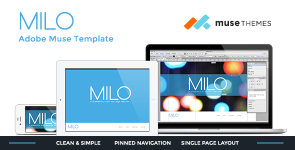 Milo Slick Muse Template