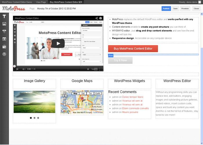 MotoPress Content Editor for WordPress