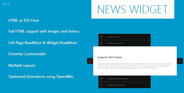 Forex news ticker widget