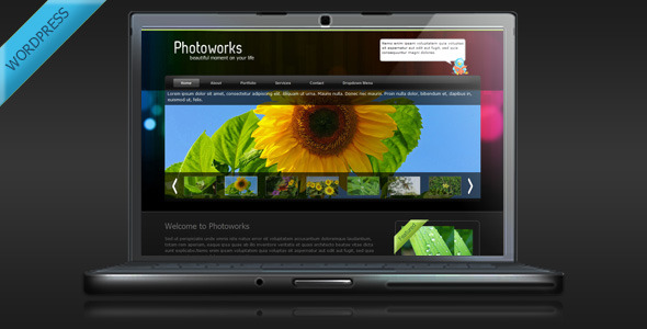 Photography and Portfolio WordPress Theme