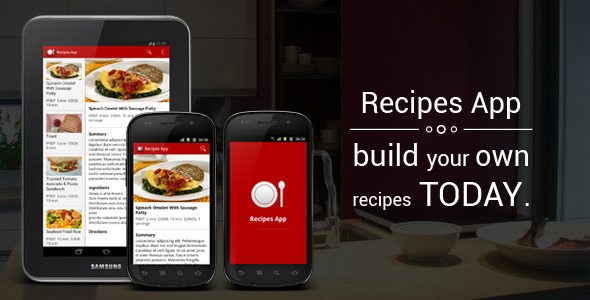 Recipes App