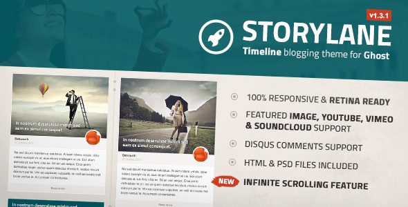 Storylane - Timeline Ghost Theme