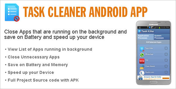 Task Cleaner Android App