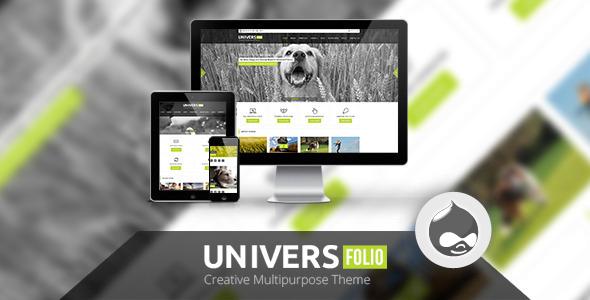 Universefolio Multipurpose Drupal Theme