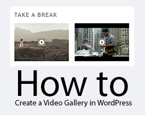 Video Gallery in WordPress Thumbnail