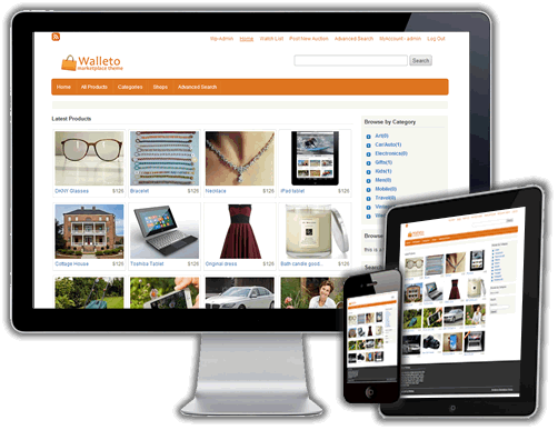 Walleto WordPress Marketplace Theme
