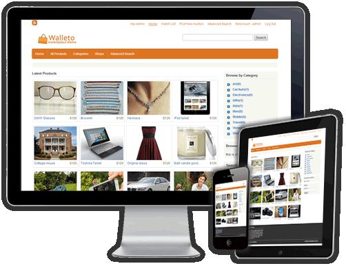 Walleto WordPress Marketplace Theme