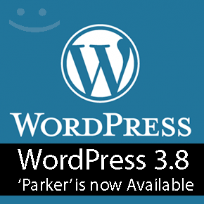 WordPress 3.8 Parker is now available