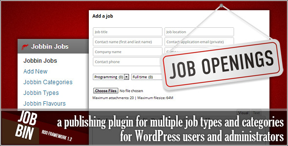 WordPress Jobbin