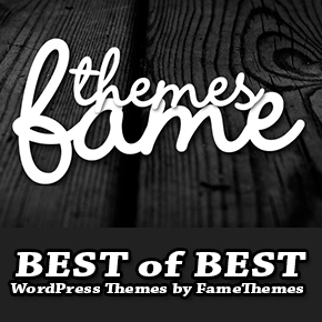 Best of Best WordPress Themes by FameThemes