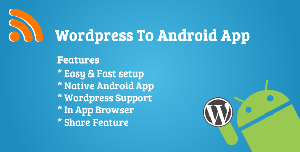 WordPress To Android App