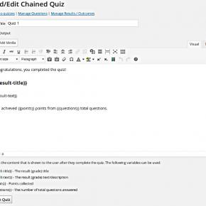 Chained Quiz Screenshot 01