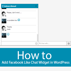 Add Facebook Like Chat Widget in WordPress Thumbnail