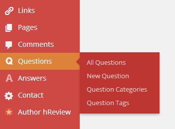 Add New Questions and Answers in WordPress
