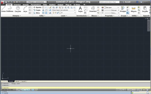 AutoCAD Dot Grid Interface