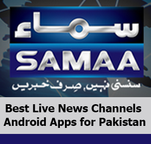 Best News Channels Android Apps for Pakistan
