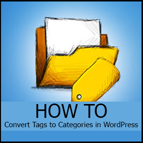 Convert Tags to Categories in WordPress Thumbnail
