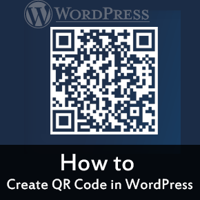 Create QR Code for your WordPress Blog Thumbnail