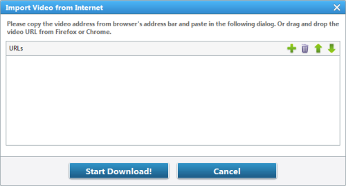 Download Videos from Internet with AVC
