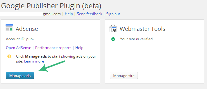 Google Publisher Plugin Manage Ads in WordPress