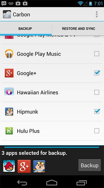 Helium - App Sync and Backup for Android