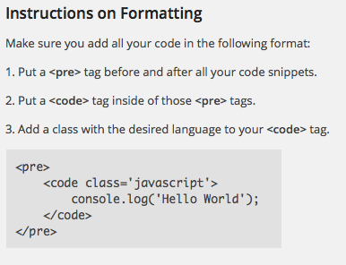 JSJ Code Highlight Instructions How to use