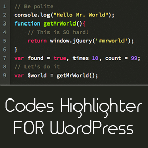 How to Highlight Codes in Beautifully Formatted Snippets in WordPress