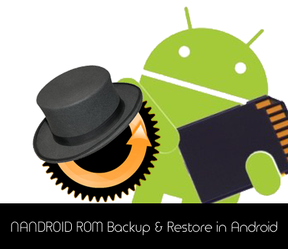 NANDROID ROM Backup and Restore in Android