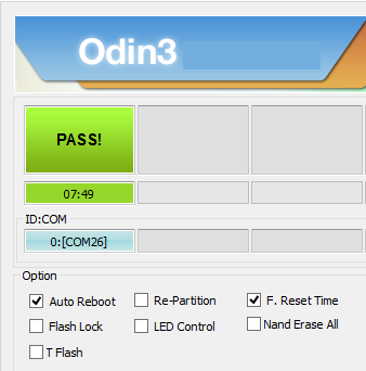 Pass Message ODIN 3.09
