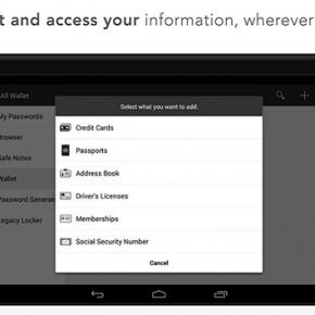 PasswordBox Free Password Safe Screenshot 04