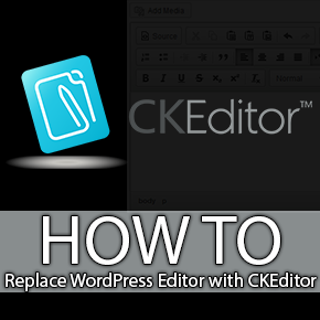 Replace WordPress Visual Editor with CKEditor Thumbnail