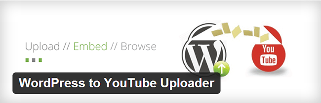 WordPress to YouTube Uploader