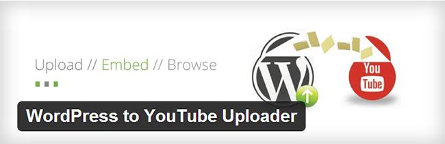 WordPress to YouTube Uploader