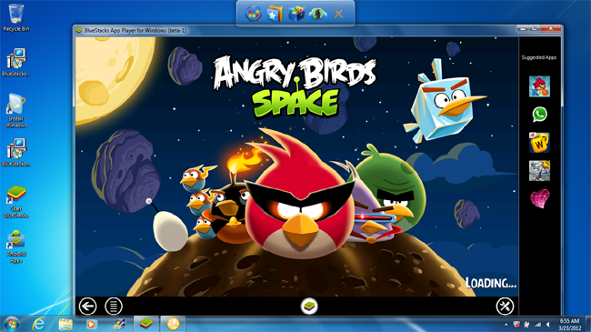 Install Android Apps in Windows with BlueStacks App Player