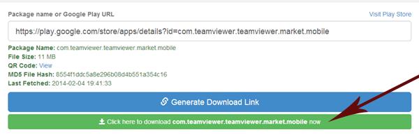 Generate APK Download