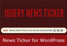 News Ticker for WordPress