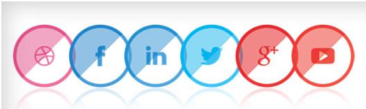 Social Contact Display Widget