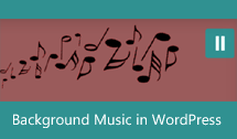 Background Music in WordPress Thumbnail