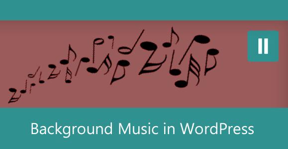 Background Music in WordPress