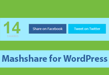 How to Add Mashable Like Social Sharing Buttons in WordPress