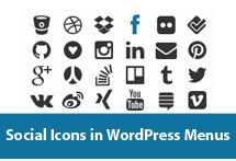 How to Add Social Icons to WordPress Menus