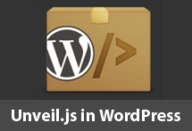 Unveil in WordPress thumbnail