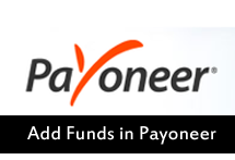 Add Funds in Payoneer