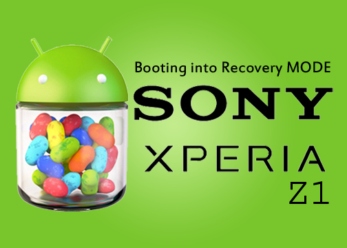 Booting into Rocovery Mode in Sony Xperia Z1