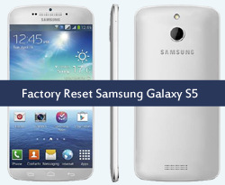 How to Factory Reset in Samsung Galaxy S5
