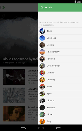 Feedly for Android Screenshot