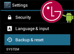 How to Make Factory Reset/Hard Reset in LG Optimus G Pro 2