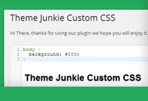 How to Load Custom CSS in Any Theme-Junkie Theme