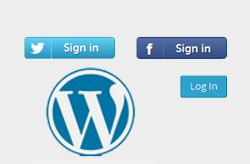 How to Add Login via Facebook Or Twitter Buttons in WordPress
